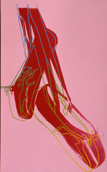 andy warhol ballet slippers