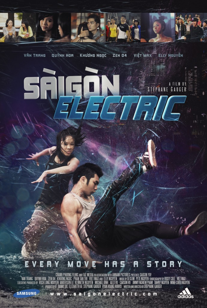 Saigon Electric US Poster
