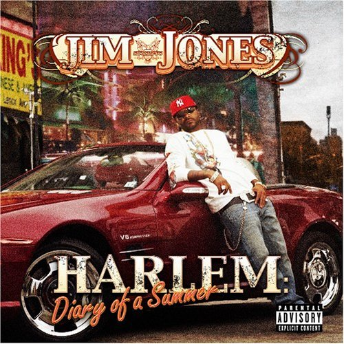 jim jones - harlem diary cd