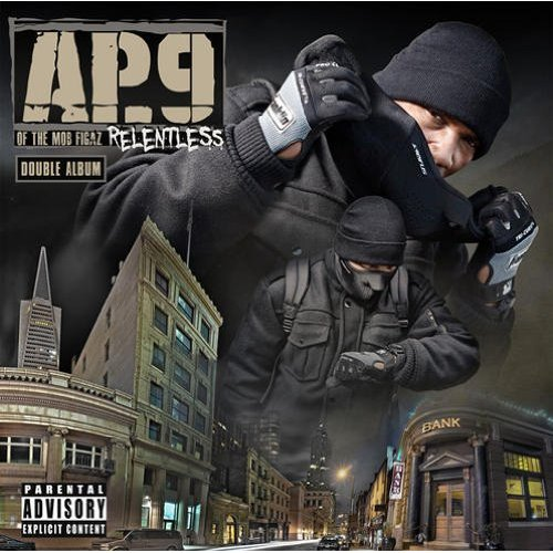 AP9 Relentless album cover art