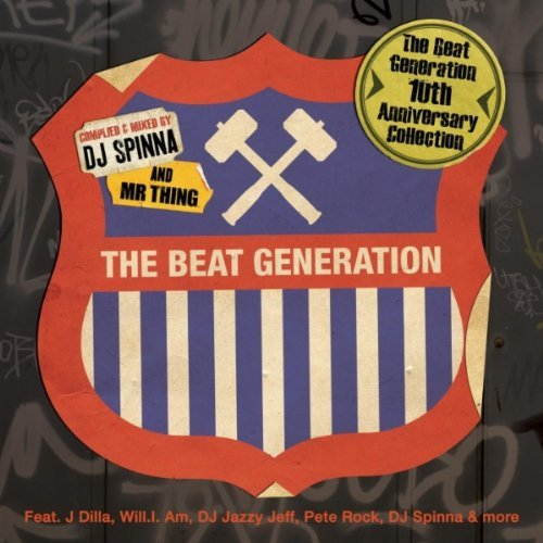 DJ Spinna Mr Thing The Beat Generation 10th Anniversary Collection album cover art