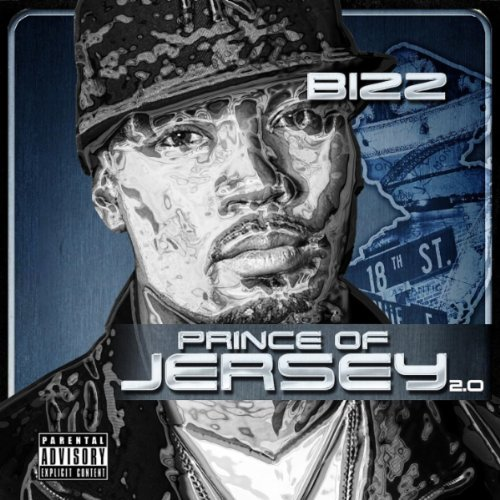 Bizz Prince of Jersey 2.0 album cover art