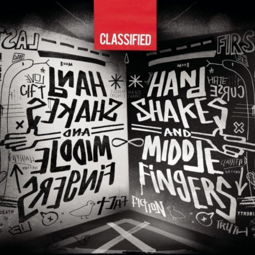 Classified Hand Shakes and Middle Fingers album cover art