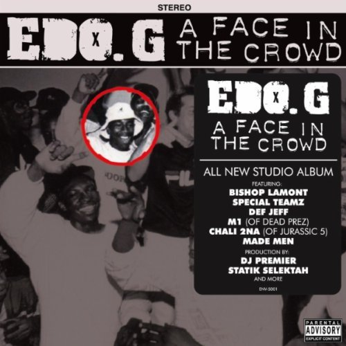 Edo. G - A Face In The Crowd album cover art