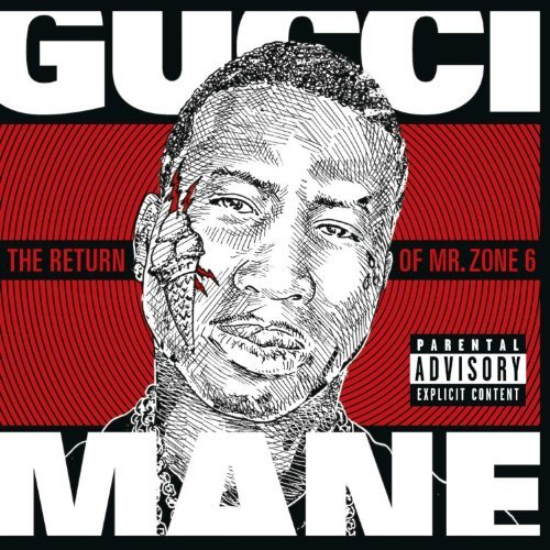 Gucci Mane The Return of Mr. Zone 6 album cover art