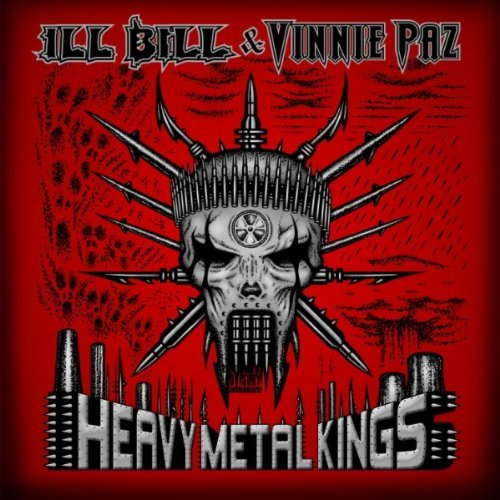 Ill Bill & Vinnie Paz Heavy Metal Kings album cover art