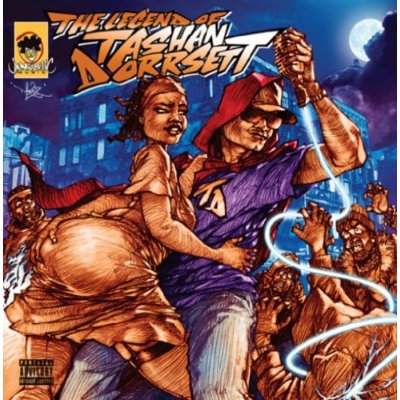 Kool Keith The Legend of Tashan Dorrsett album cover art