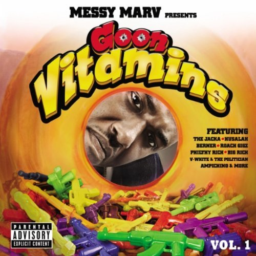Messy Marv Goon Vitamins album cover art
