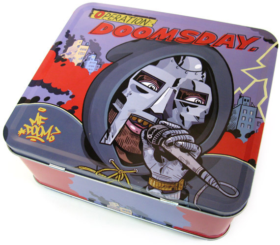 MF Doom Operation Doomsday Lunchbox album cover art