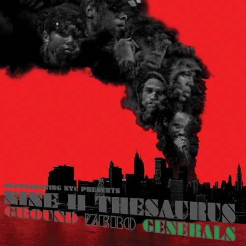 Nine 11 Thesaurus Ground Zero Generals album cover art