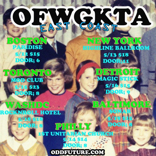 odd future concert tour dates