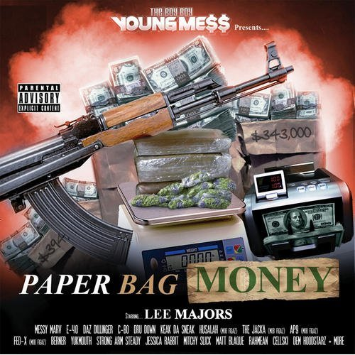 The Boy Boy Young Mess Presents Paper Bag Money album cover art