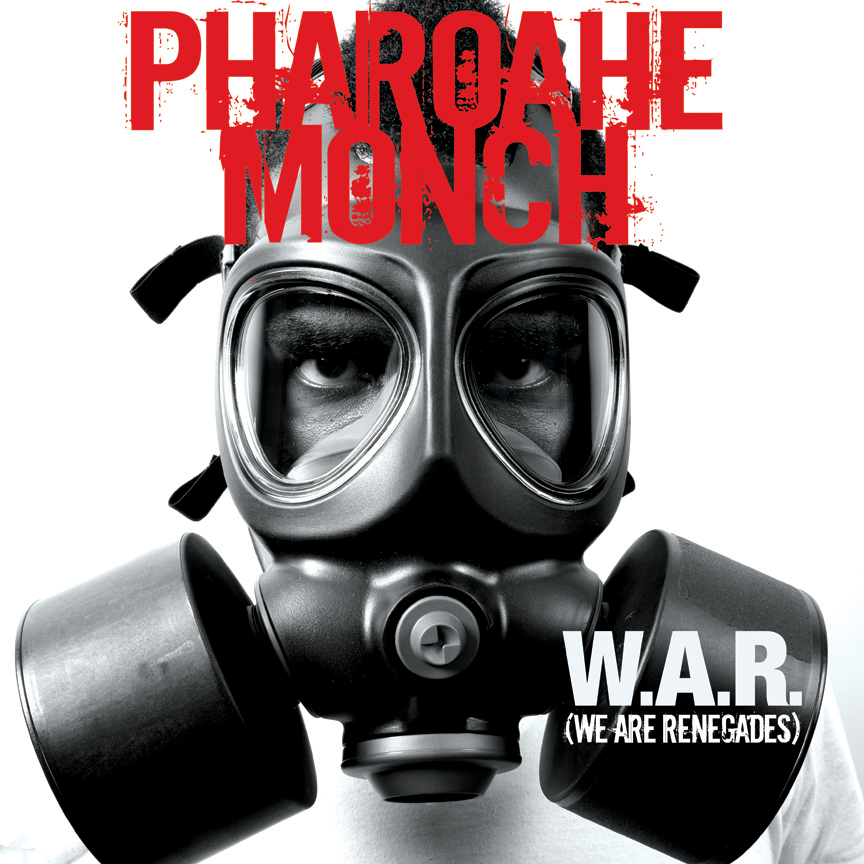 Pharoahe Monch W.A.R. (We Are Renegades) album cover art