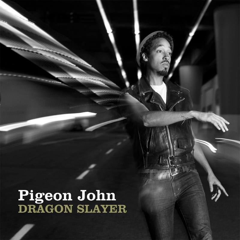 Pigeon John - Dragon Slayer album cover art