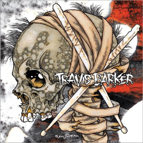 travis barker give the drummer some album cover art