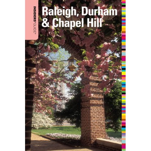 Insiders' Guide Raleigh, Durham & Chapel Hill book cover art